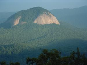 Looking Glass Rock, an icon of Pisgah