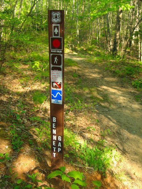 Typical Forest Service Trail Sign