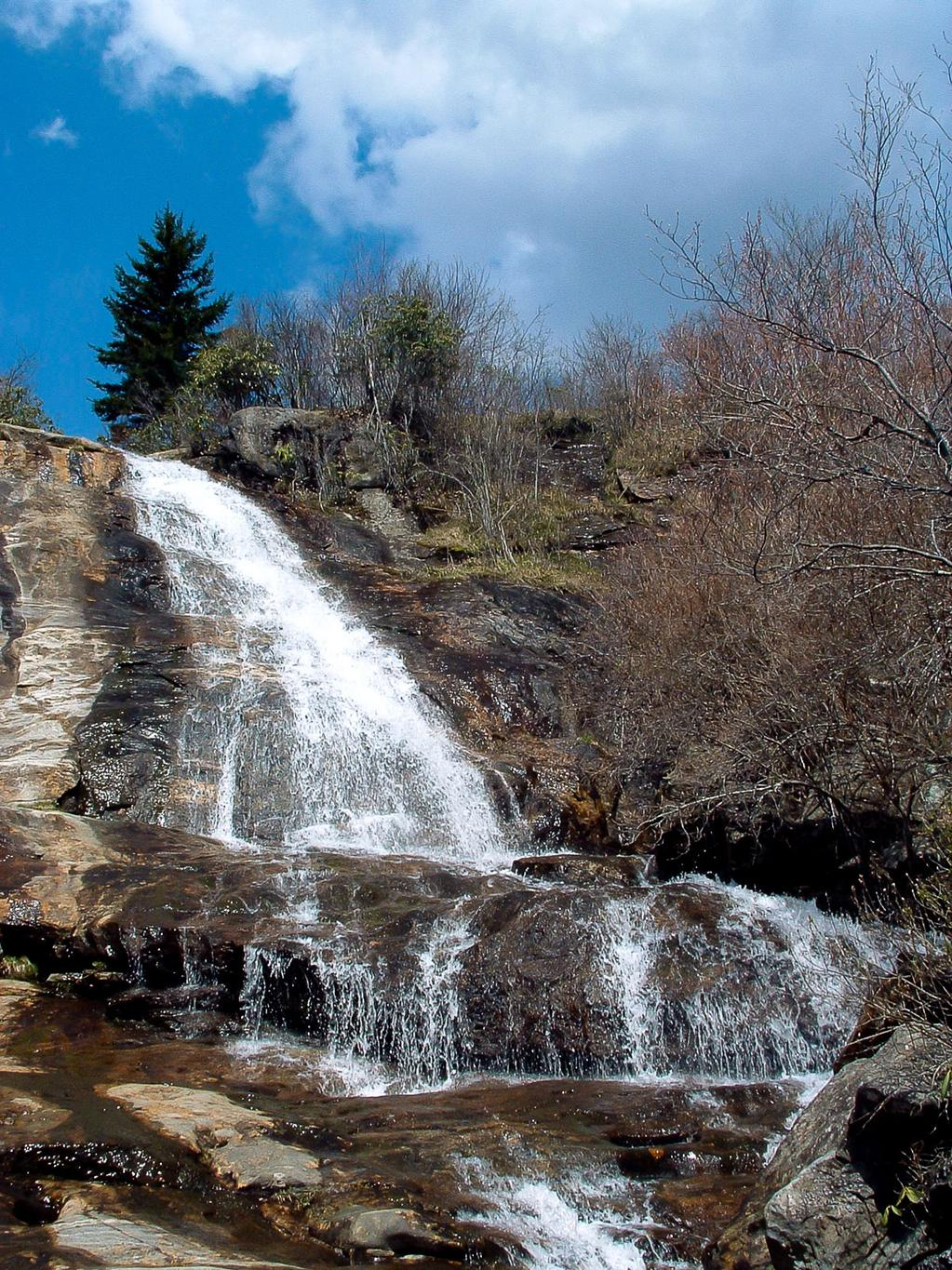 Upper Falls in Graveyard Fields