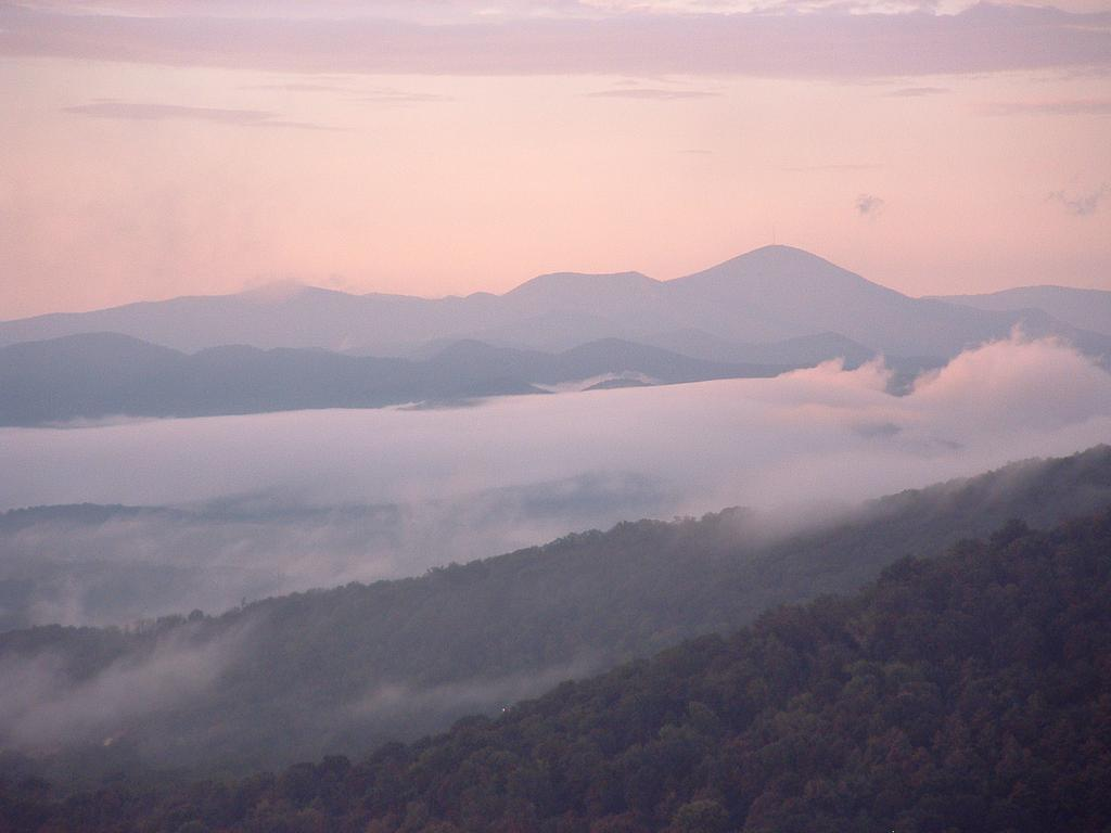 Mount Pisgah, for which the Pisgah National Forest is named