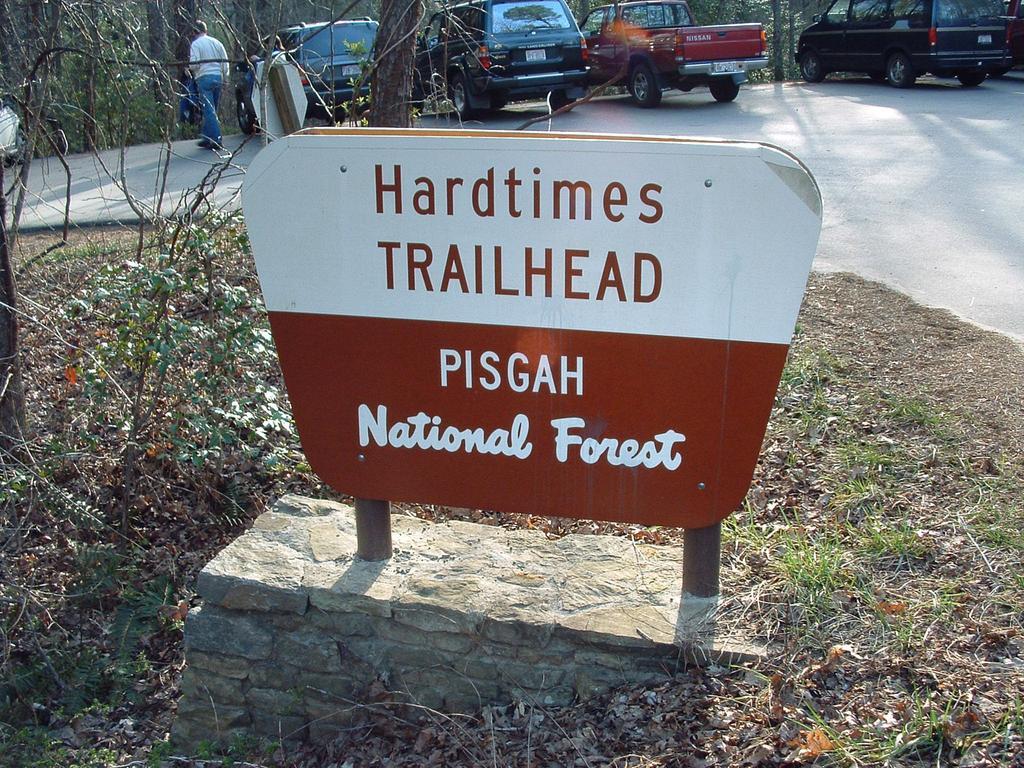 Hard Times trailhead.