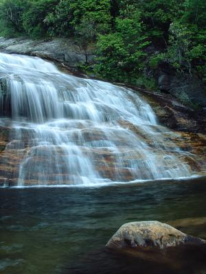 Second Falls in spring