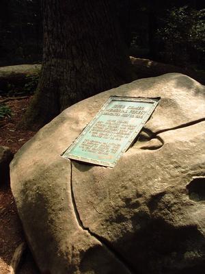 The Joyce Kilmer memorial.