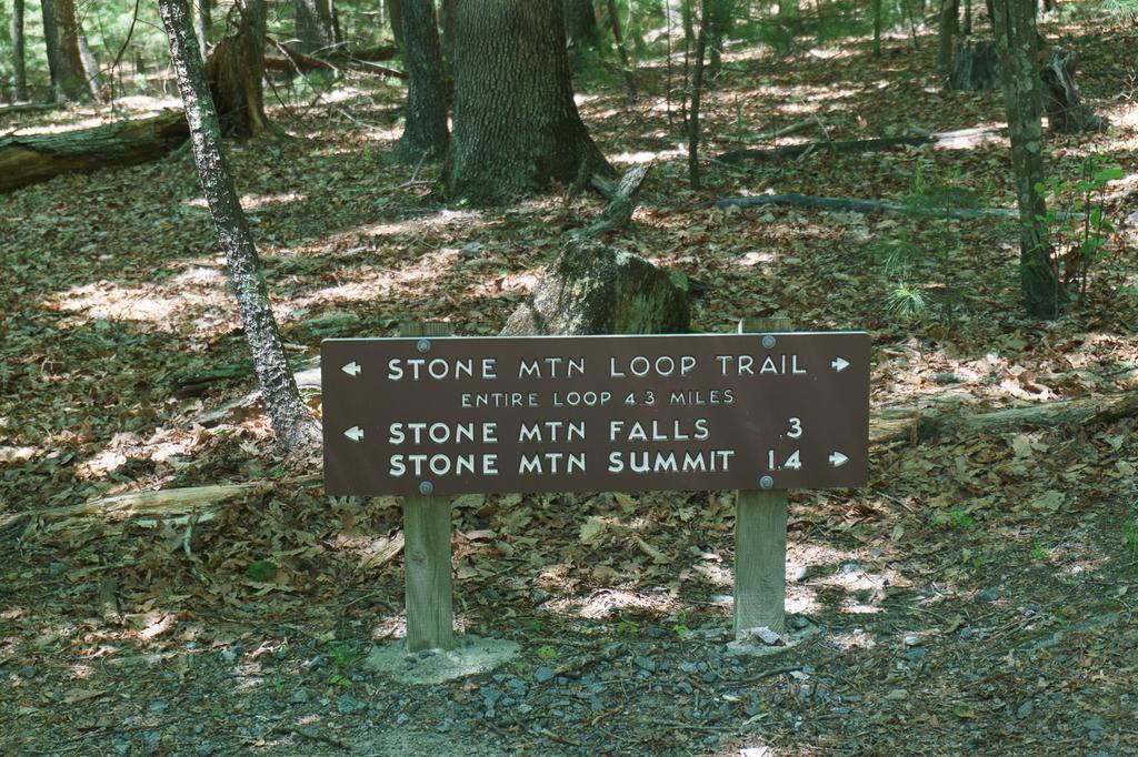Stone Mountain Loop Hike