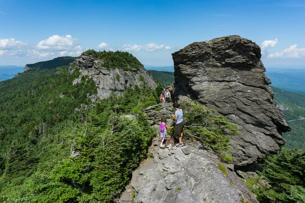 Image result for grandfather mountain hiking