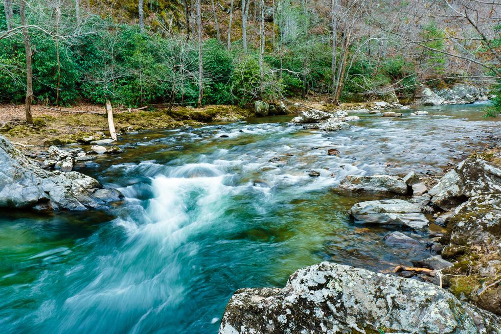 Hot Springs NC Hiking Lovers Leap River Views and an
