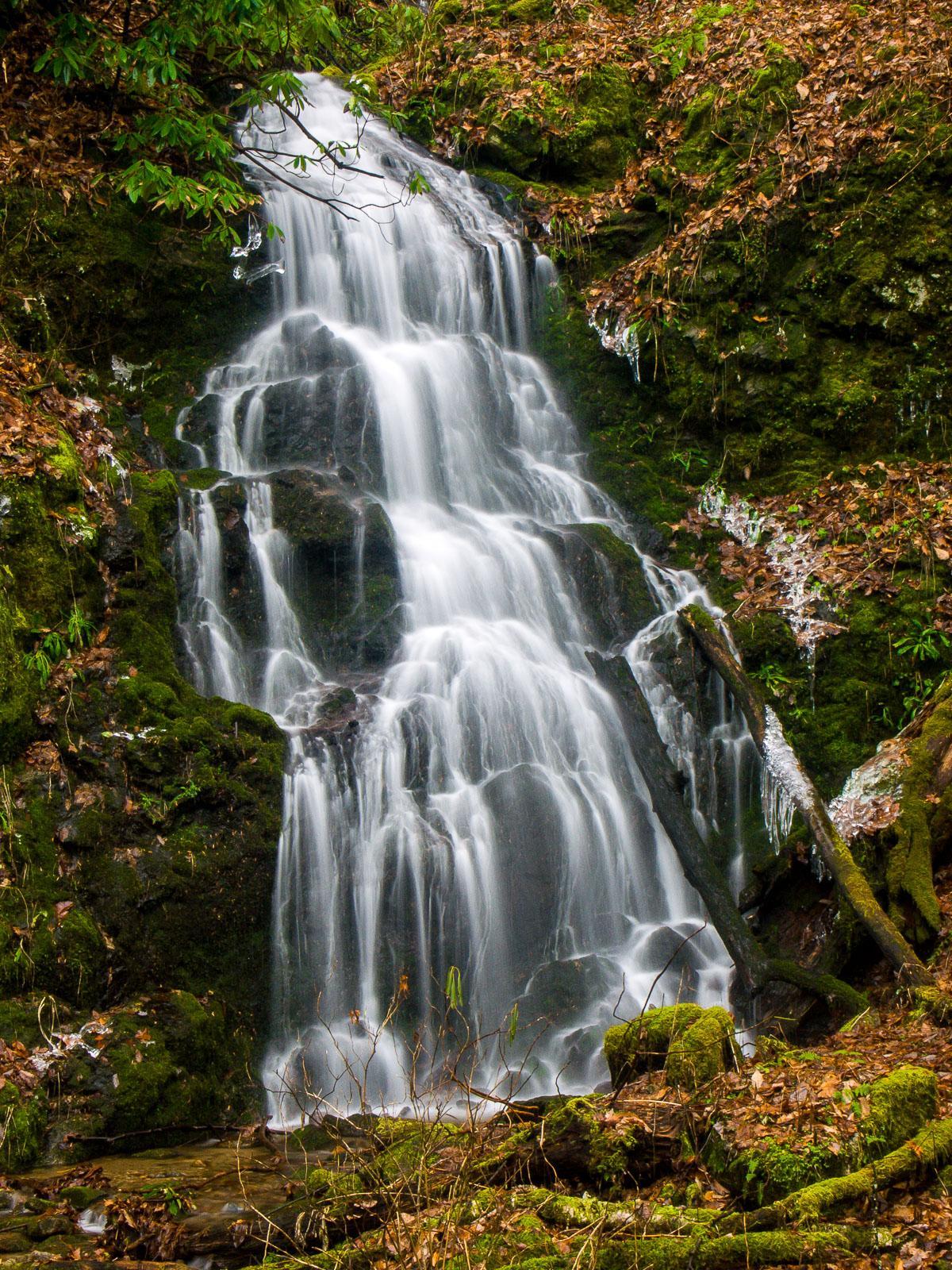 Waterfall below sugarloaf mountain wnc waterfalls waterfall below sugarloaf mountain altavistaventures Gallery