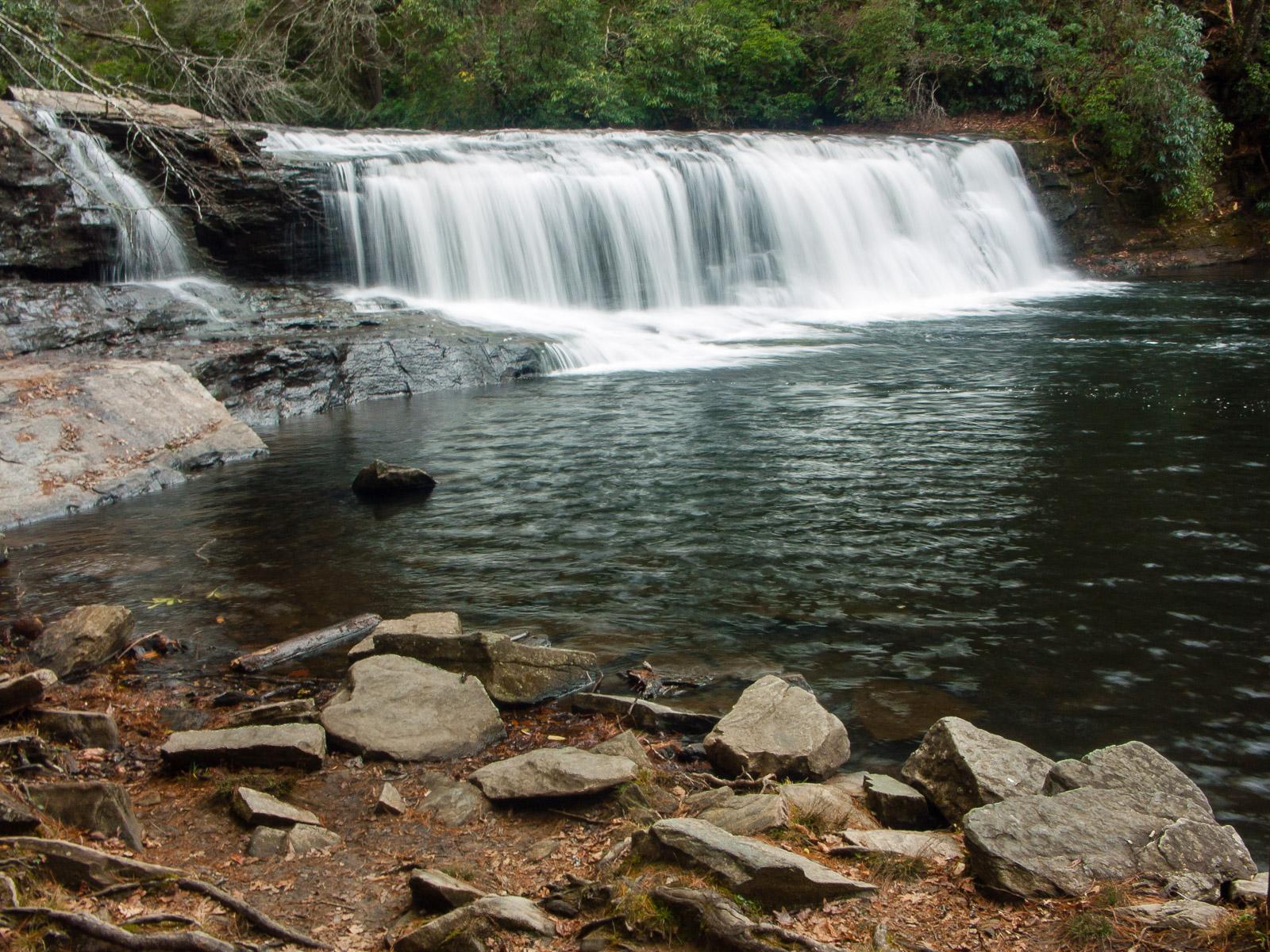 Hooker Falls - WNC Waterfalls