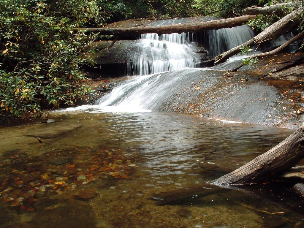 Waterfall on Cedar Rock Creek