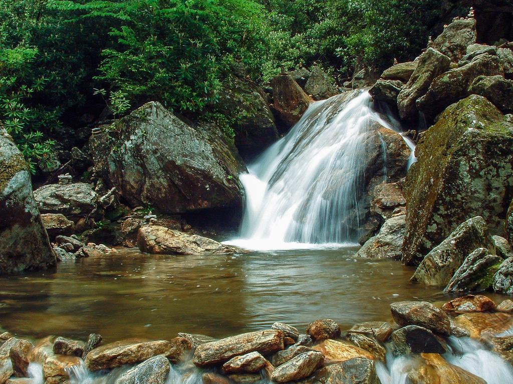 Skinny Dip Falls Wnc Waterfalls