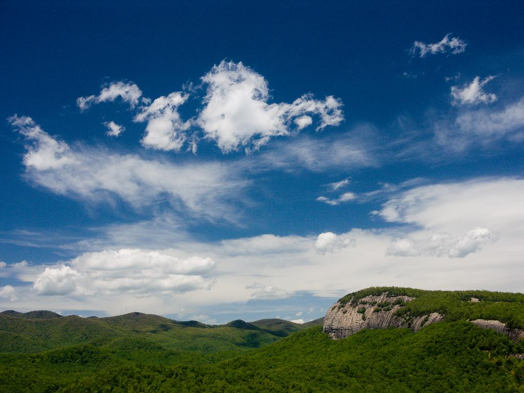 View of Looking Glass Rock from John Rock.