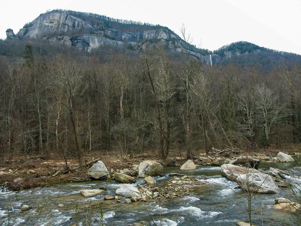 Chimney Rock above Broad River