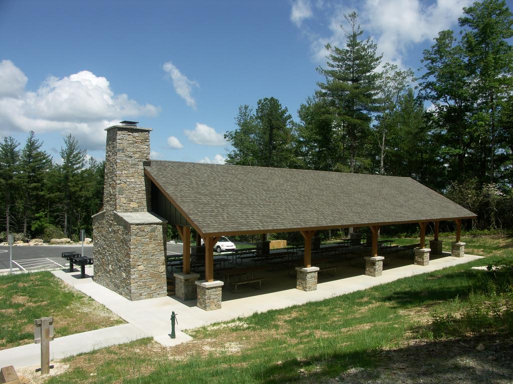 Gorges State Park Picnic Shelter