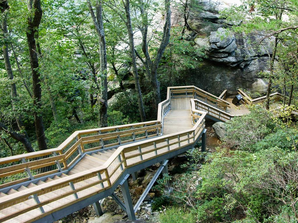 Outcroppings Stair Structure