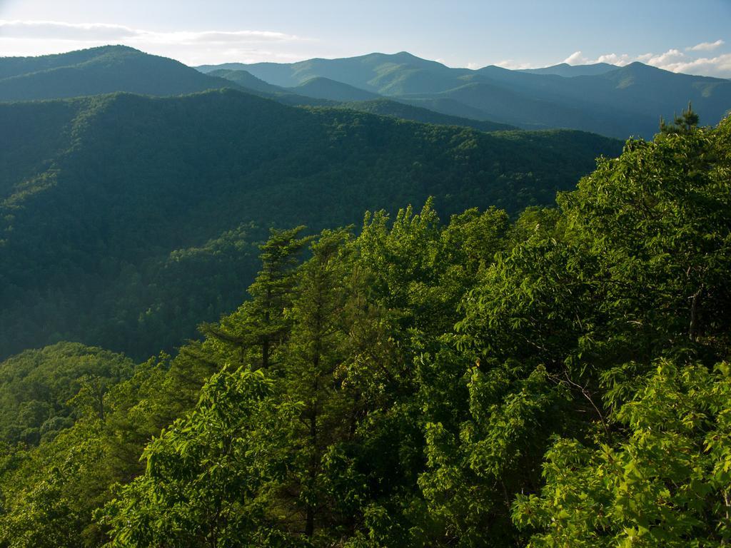 The Black Mountains from Kitsuma Peak