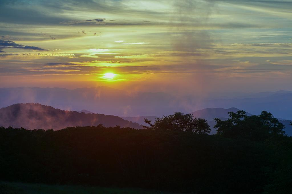 Sunset from Craggy Gardens