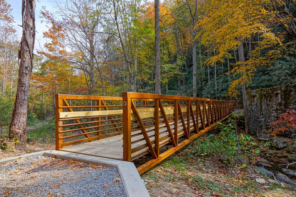 Current inspiration: new bridge over the Catawba River on the Catawba Falls trail.