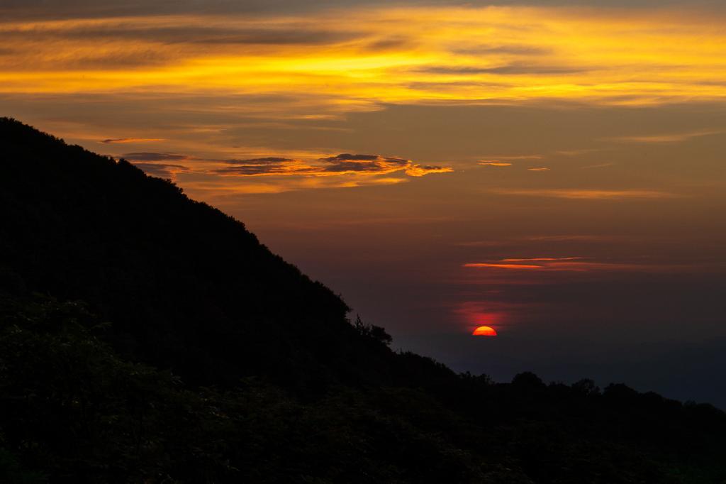 Mid-Summer Sunset at Craggy Pinnacle