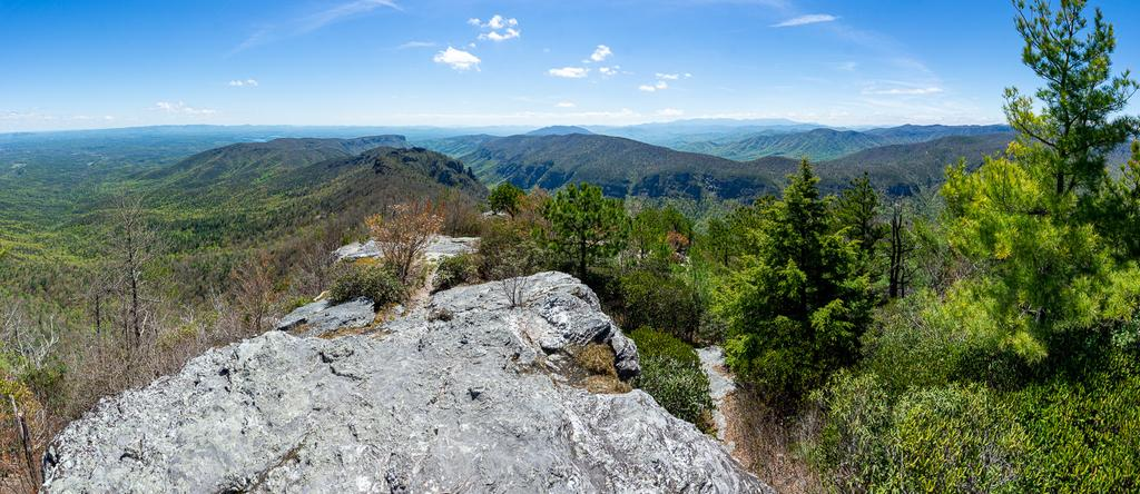 View South From Table Rock