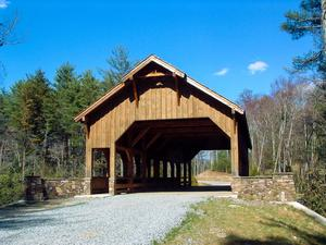 Covered Bridge over High Falls