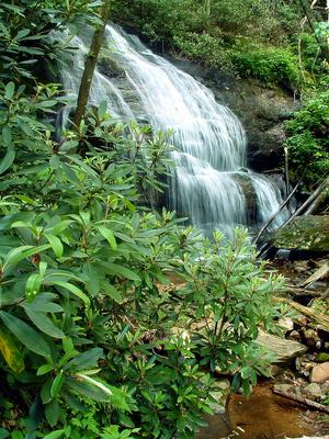 Waterfall on West Prong Hickey Fork