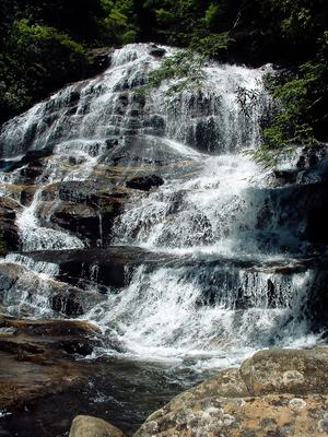 Middle tier of Glen Falls