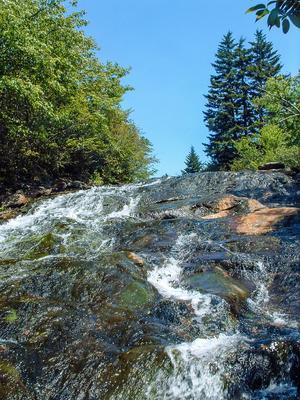Flat Laurel Creek Cascades