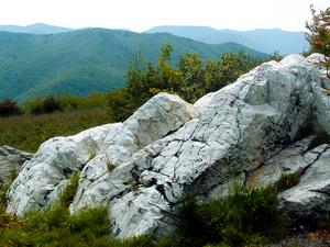Quartz Outcrop