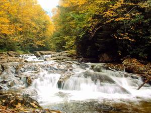 Waterfall on the Big East Fork