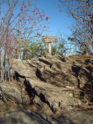 Summit Signpost