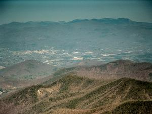 View of Asheville