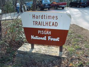The Hardtimes Trailhead