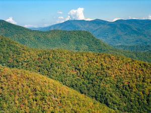 Looking East from Pinnacle
