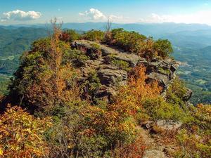 View of the Pinnacle in Pinnacle Park