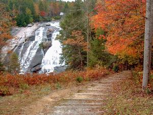 High Falls in Fall Color
