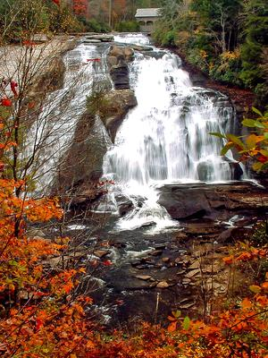 High Falls in Fall