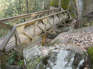 Bridge in South Mountains State Park