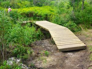 New Bridge and Boardwalk
