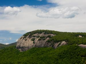 Close-Up of Looking Glass Rock from John Rock