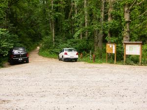 Boyd Branch and Campground Connector Parking Area