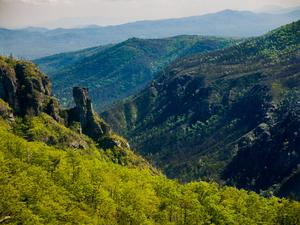 Linville Gorge from Table Rock