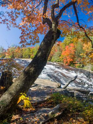 Bridal Veil Falls in Fall Color