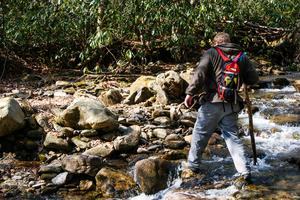 Crossing Big Creek