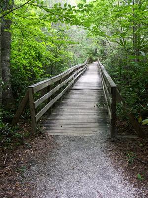 Bridge over Setrock Creek