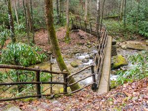 Bridge over Hickey Fork