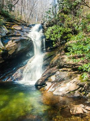 Shuck Ridge Creek Falls