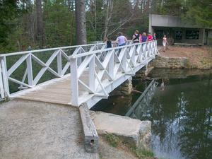 Bridge Over Front Lake Dam