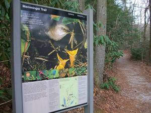 Memminger Trail Sign