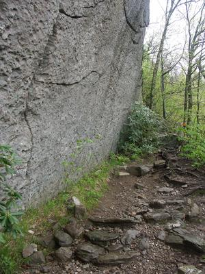Rock Wall on the Profile Trail