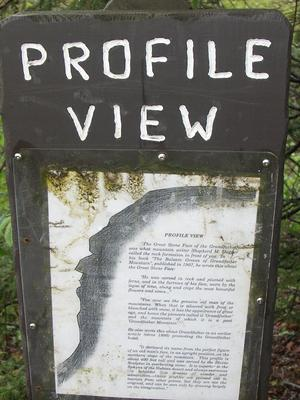 Profile View Sign
